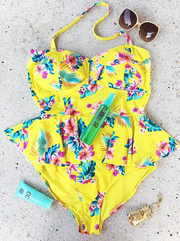 Plussize swimwear Forever21plus 4