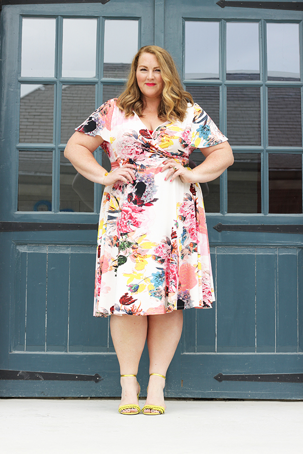 Belloya dress plussize mode grote maten curvy 11