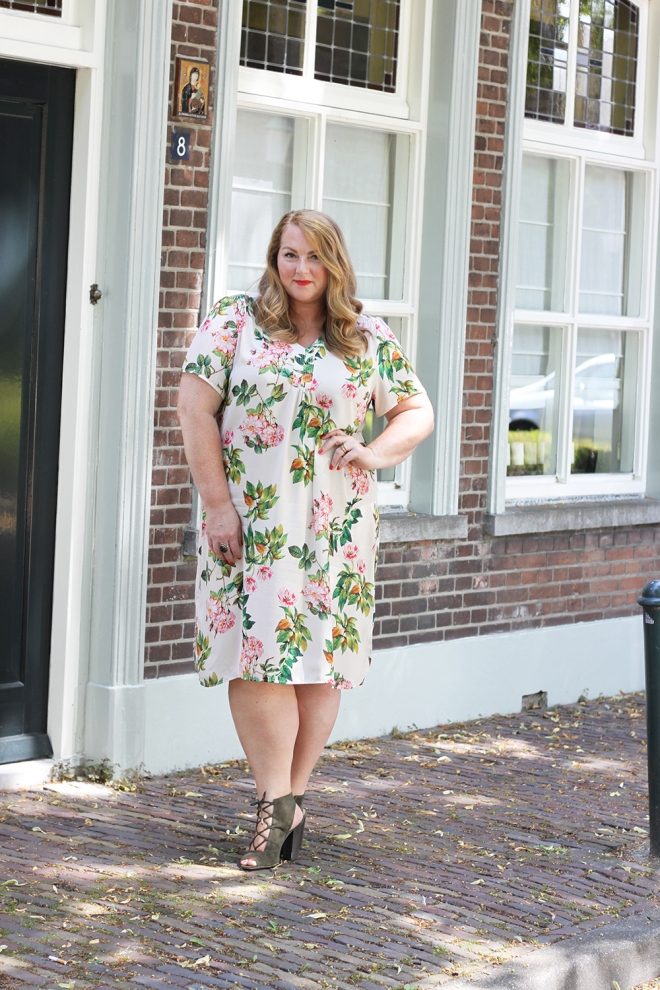 OOTD Plussize curvy fashion zizzi dress 12