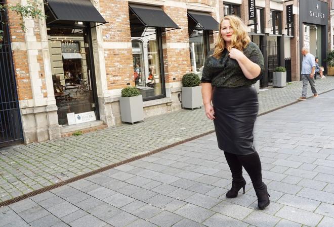 Xandres Xline plussize fashion curvy grote maten 4