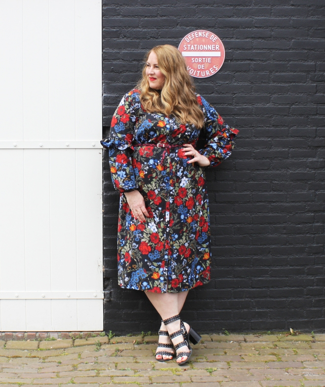 OOTD grote maten curvy plussize fashion h+m 11