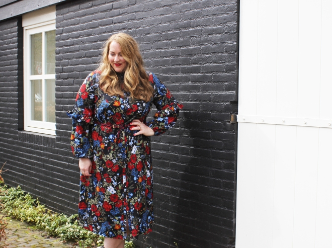 OOTD grote maten curvy plussize fashion h+m 16