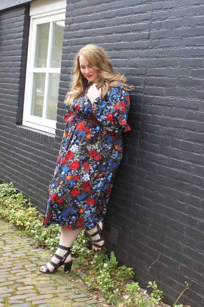 OOTD grote maten curvy plussize fashion h+m 2
