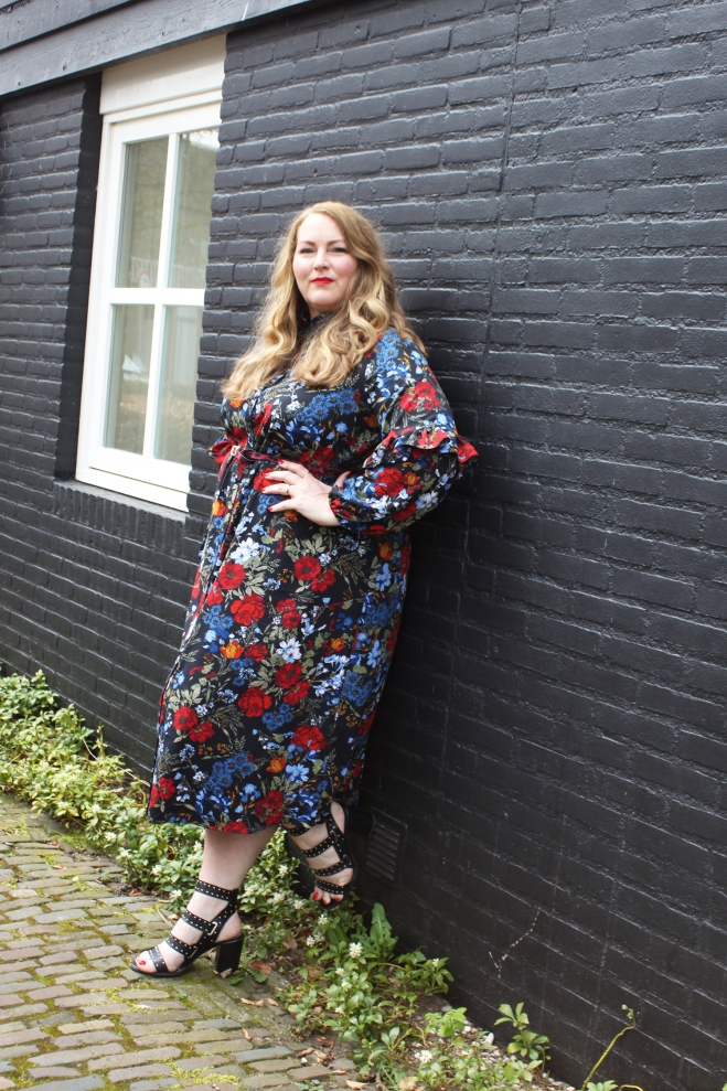 OOTD grote maten curvy plussize fashion h+m 5