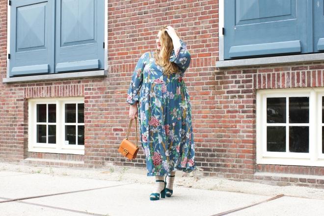 OOTD plussize fashion grote maten mode curvy jp & g baker x H&M-11