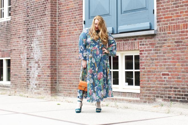OOTD plussize fashion grote maten mode curvy jp & g baker x H&M-12