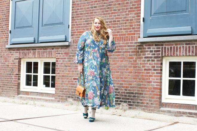 OOTD plussize fashion grote maten mode curvy jp & g baker x H&M-2
