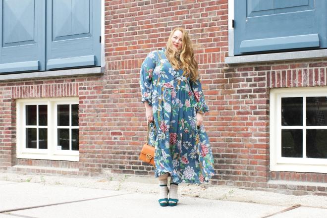 OOTD plussize fashion grote maten mode curvy jp & g baker x H&M-5