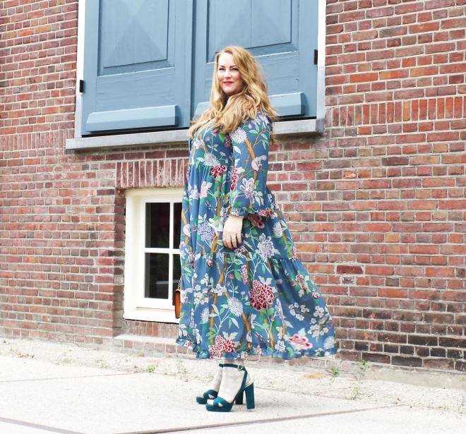 OOTD plussize fashion grote maten mode curvy jp & g baker x H&M-6