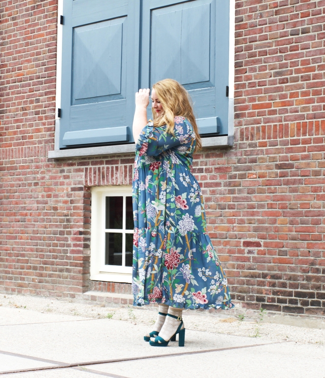 OOTD plussize fashion grote maten mode curvy jp & g baker x H&M-8