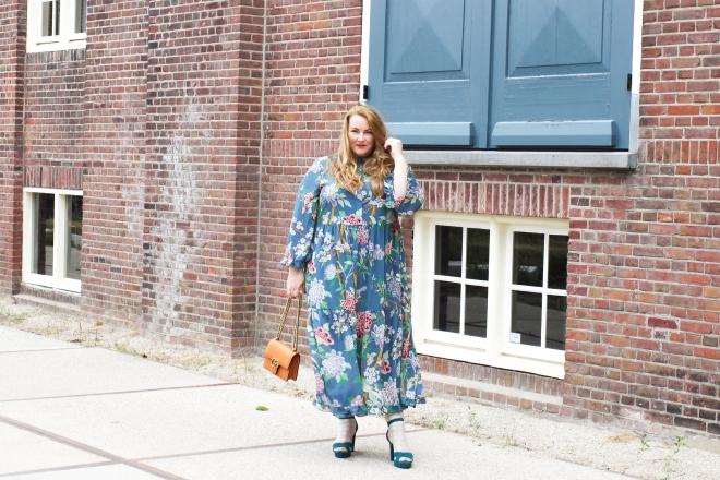 OOTD plussize fashion grote maten mode curvy jp & g baker x H&M-9